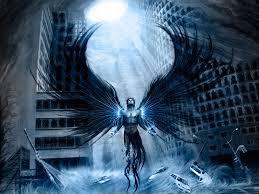 ange dans la ville